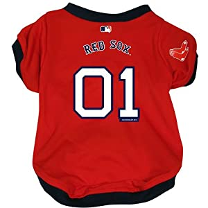 Hunter MFG Boston Red Sox Dog Jersey, Medium