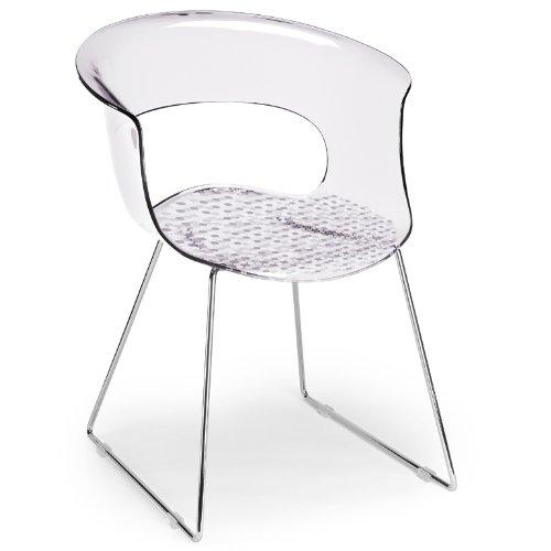 Scab-Design-Designer-Stuhl-mit-Kufengestell-Miss-B-Antishock-Sledge