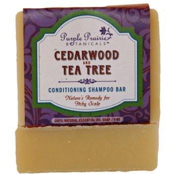 Cedarwood & Tea Tree Shampoo Bar Soap 4 oz (Hair Condition Bar compare prices)