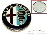 Alfa Romeo 156 166 Heckemblem - Reparatur Kit - Modellzeichen zum �berkleben - Aufkleber f�r 60777672