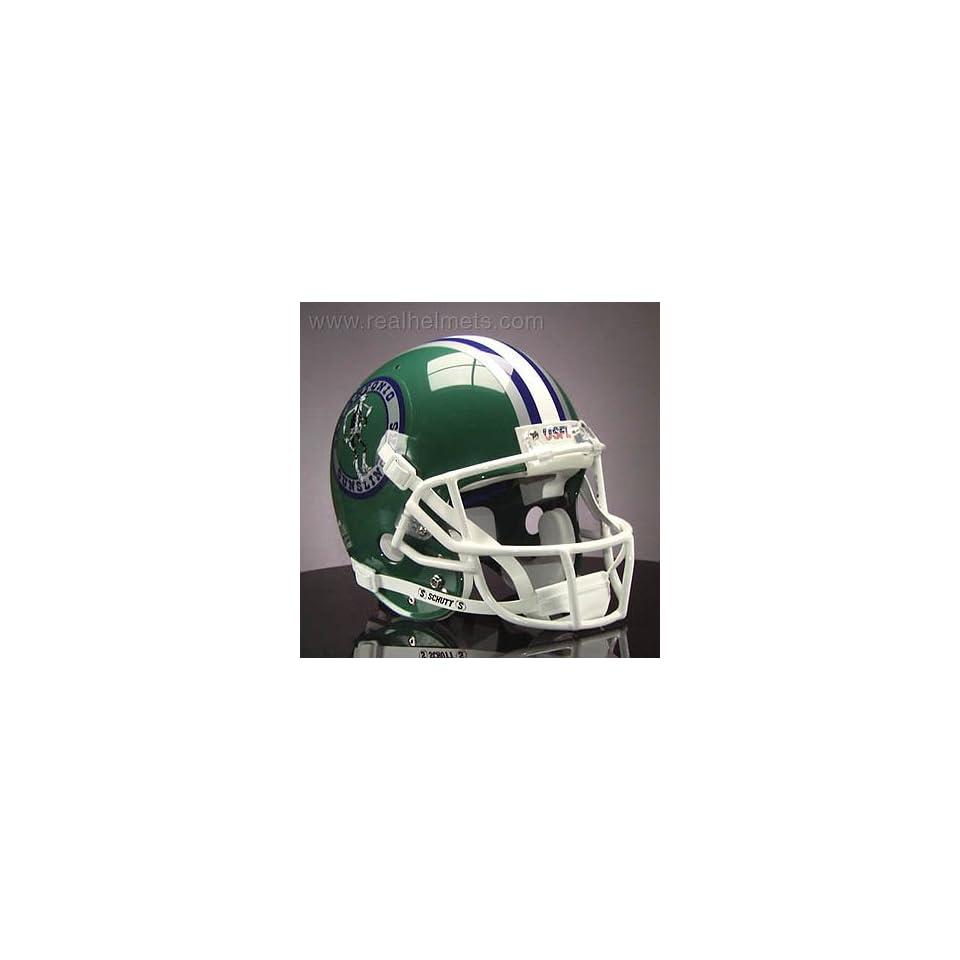 SAN ANTONIO GUNSLINGERS 1984-1985 USFL Football Helmet STICKERS
