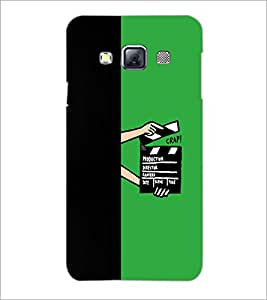 PrintDhaba Film D-5482 Back Case Cover for SAMSUNG GALAXY A3 (Multi-Coloured)