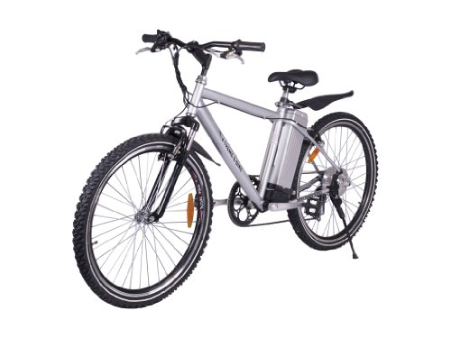 Xb-300-Sla X-Treme Electric Mountain Bicycle (Silver)