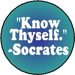 KNOW SOCRATES THYSELF
