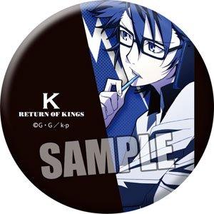 K RETURN OF KINGS 缶バッジ「伏見 猿比古」