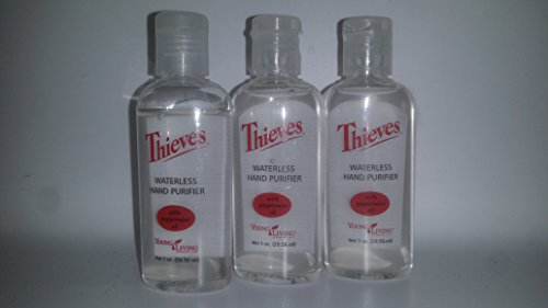 Image of Thieves Hand Purifier by Young Living - 3 pack, 1 fl. oz. ea