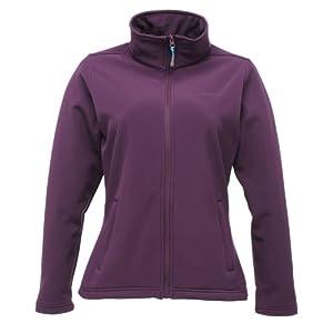 Regatta Connie II Womens Softshell Jacket PurpCor(PGr)
