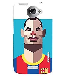 TOUCHNER (TN) Soccer Player 4 Back Case Cover for HTC One X::HTC One XT::HTC 1X