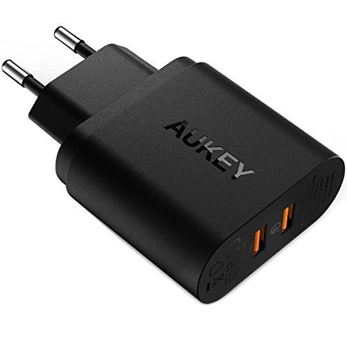 aukey-quick-charge-30-usb-ladegerat-39w-2-ports-fur-iphone-7-7-plus-6s-6s-plus-ipad-usw