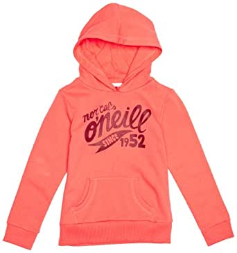 O'Neill - Sweat-shirt à Capuche - Fille - Rose (Calypso Coral) - FR : 10 ans (Taille fabricant : 10 years)