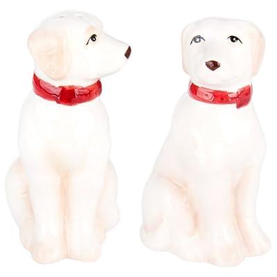 Charles Sadek Import Co - Yellow Labradors Sitting Salt & Pepper Shakers by Charles Sadek Import Co