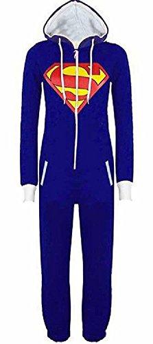 URAQT Tuta Felpa Superman Batman, Superman Batman Pigiama