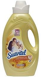 Suavitel 139121  Morning Sun Fabric Softener, 56 oz Bottle (Case of 6)