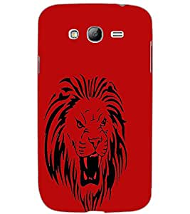 SAMSUNG GALAXY GRAND NEONEO LION Back Cover by PRINTSWAG