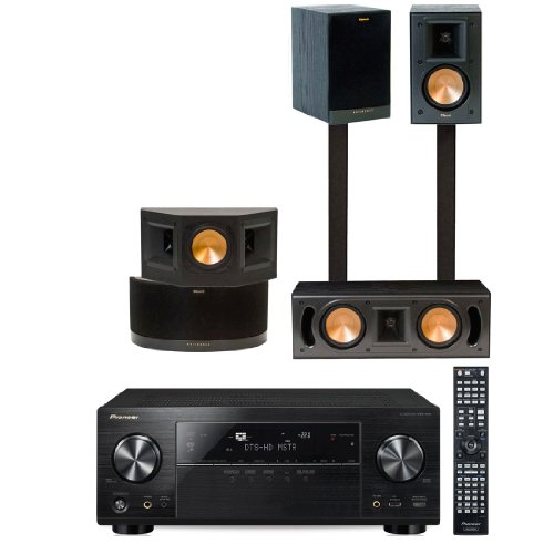 Klipsch RB-41II Home Theater System-Pioneer VSX-1123-K 7.2 Channel -FREE SUB