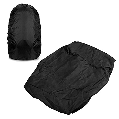 Outdoor Camping Hiking Waterproof Dustproof Rucksack Rain Cover Black