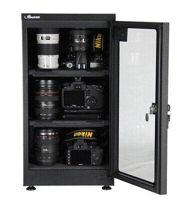 50L LCD Dehumidify dry cabinet box for lens Camera equipment storage 25%-75%RH (Dehumidify Box compare prices)