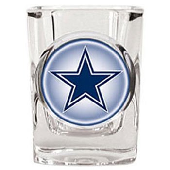 Dallas Cowboys 2 oz Square Shot Glass