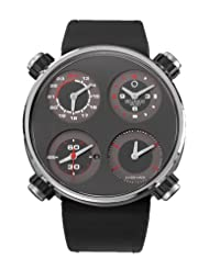 Cheap Price Meccaniche Veloci Men's W124N111371016 Automatic Titanium Charcoal Dial Dual-Time Watch Limited time