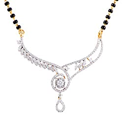 Joyalukkas Bandhan collection 18k Yellow Gold and Diamond Pendant