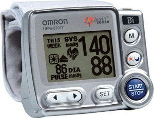 Image of Omron Digital BP Wrist Unit with IntelliSense (B008CPNIHM)