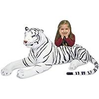Melissa and Doug White Tiger Plush
