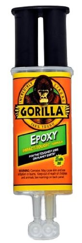 Gorilla Glue 4200101 Epoxy 25 ml Syringe