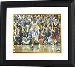 Julius Mays signed Kentucky Wildcats 8x10 Photo Custom Framed by Athlon+Sports+Collectibles