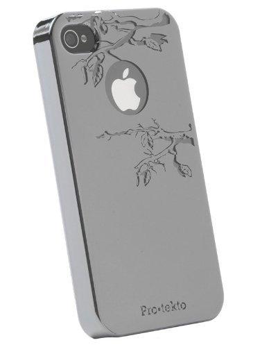 Pro tekto Reflekt SnapOn Case for iPhone 4, Forbidden Fruit in Gun Metal Mirror (Fruit Gun compare prices)
