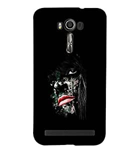 PRINTSWAG GIRL ART Designer Back Cover Case for ASUS ZENFONE 2 LASER ZE550KL