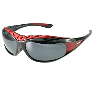 Polarlens G7 Multisport Sunglasses/ Ski Goggles / Snowboarding Goggles / Motor Sports / Water Sports/ Triathlete Sport Glasses / Reflective Flash Mirror / High Performance Flexible Polycarbonate Plastic / weight without accessories - sunglasses only - 30 g /With accessories - sunglasses, headstrap and forehead padding - 50 g/Introductory pricing for the U.S market