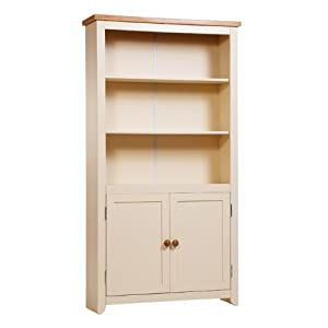 Excellent Door Tall Bookcase Home Ranges By Wood Oak Torino Solid Oak 2 Door
