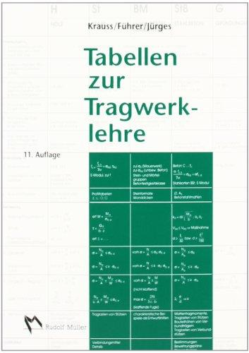 Buch Tabellen zur Tragwerklehre - Franz Krauss .pdf - bartpervisa