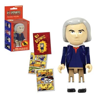 Li'l Ludwig van Beethoven (Beethoven Action Figure compare prices)