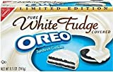 White Fudge Covered Oreo Cookies Limited Edition 8.5 Oz (2 Boxes)