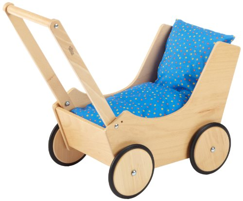 HABA 1624 Doll's Pram Natural