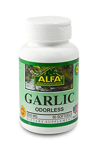Garlic (Odorless) 2000 Mg 60 Softgels - Cholesterol And Hearth Support