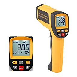 Zyurong GM1150A Infrared Thermometer LCD Display Temperature Gun