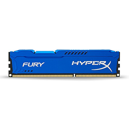 Kingston HyperX Fury Memorie DDR-III da 4 GB, PC 1600, Blu
