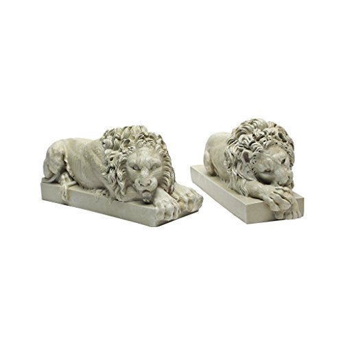 Design Toscano Lions from the Vatican Sculptures