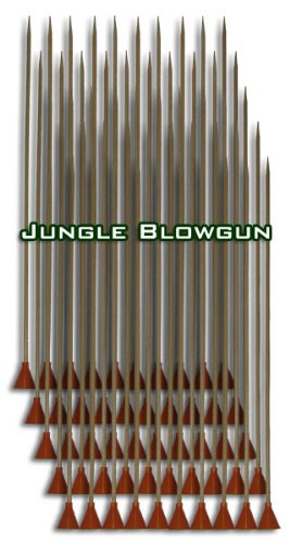 Cold Steel Big Bore .625 Cal. Bamboo Hunting Darts - 50 pcs