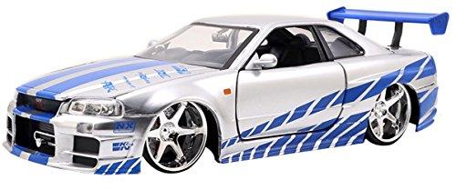 Brians-Nissan-Skyline-GT-R-R34-2002-silberblau-Fast-Furious-7-124-Jada