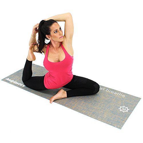 Top 5 Best Fabric Yoga Mat For Sale 2016 : Product : BOOMSbeat