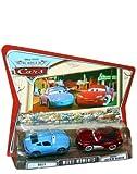 Disney Pixar Cars World Of Cars Movie Moments 2-Pack - Sally & Cruisin' Lightning McQueen