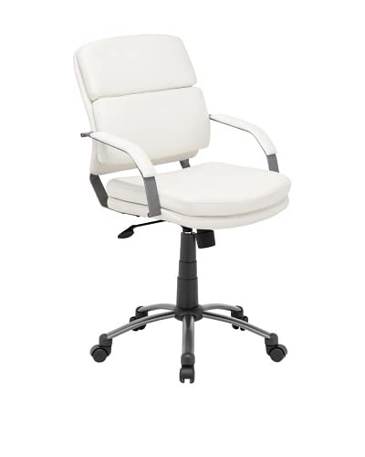 Zuo Director Relax Office Chair, White