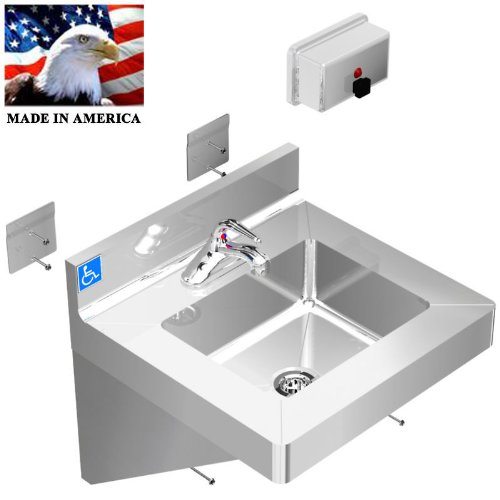 Commercial Hand Washing Sink front-639473
