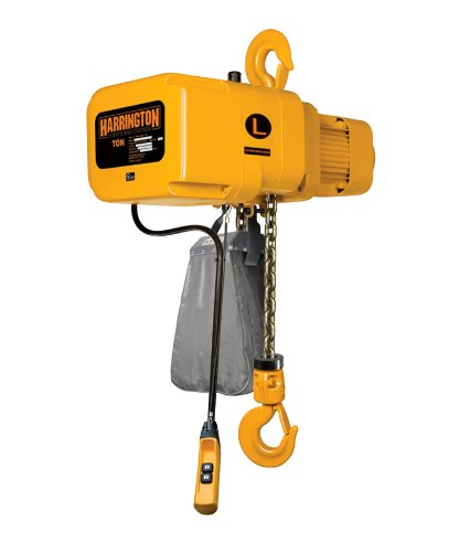 Harrington Er010L-20 Electric Chain Hoist 20' Of Lift 1 Ton 1 Ton