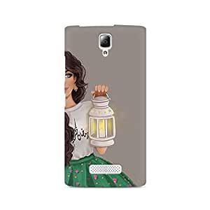 Mobicture Girl Abstract Premium Printed Case For Lenovo A2010