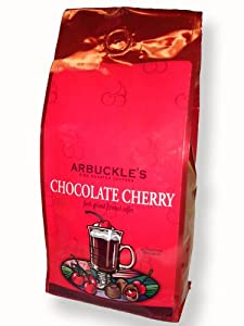 12 oz bag of Arbuckle Coffee Chocolate Cherry flavored coffee, from 100% premium Arabica coffee