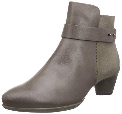 Ecco SCULPTURED 45, Stivali classici imbottiti a gamba corta donna, Marrone (Taupe (Dark Clay/Dark Clay)), 40